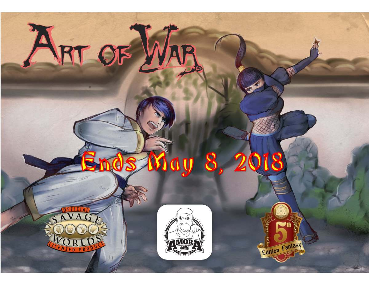 48 to the end of Art of War Kickstarter